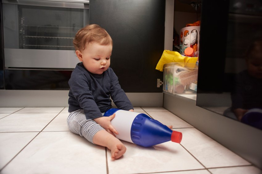 Manage your cleaning when yu have young children 3rd paragraph