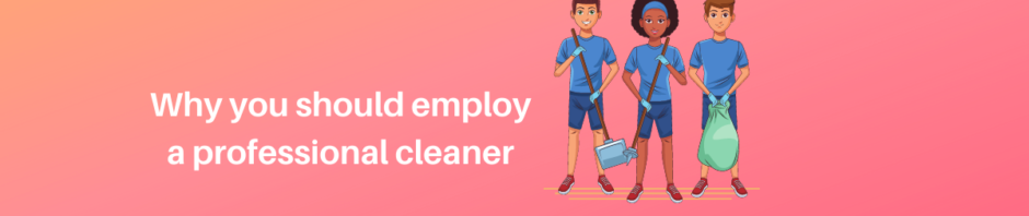why you should employ a professional cleaner